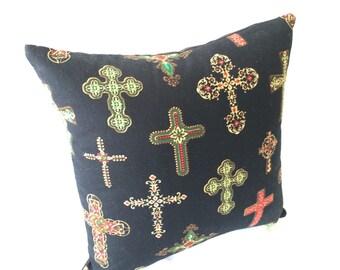 Cross Pillow 10x10~