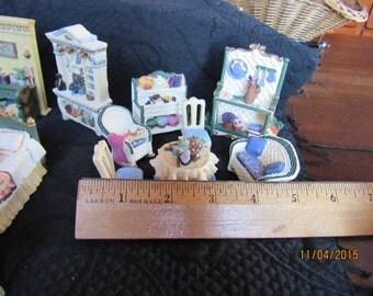 AVON VICTORIAN Collection miniatures