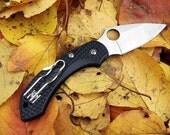 Small EDC Knife,Pocket Knife,Folding Steampunk Knife,Mint Condition.