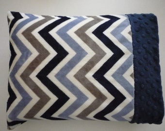Minky Pillowcase...for 12x16 Pillow...soft and cuddley...for baby or toddler...easy care...can order pillow insert