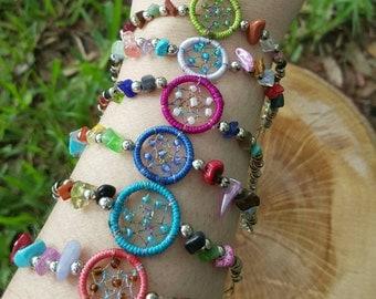 Dreamcatcher Gemstone Bracelets