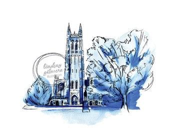 Duke Chapel print