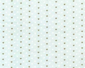 Wee Sparkle by Michael Miller - Heart Sprinkles Mist - Cotton Woven Fabric - CLEARANCE