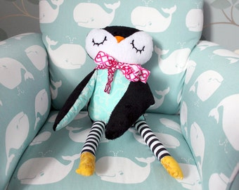 Children's Plush Penguin Toy
