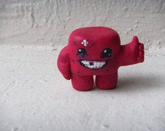 1 inch Super Meat Boy