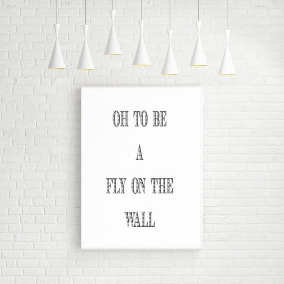 Oh, to be a Fly on the Wall Digital Art by Edith Dooley