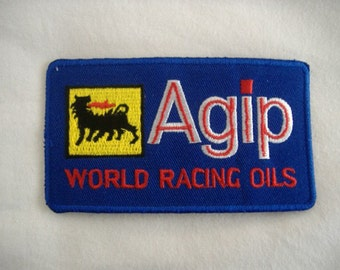 Agip Embroidered Patch (Single)