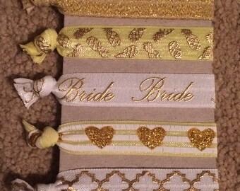 Bride Hair Ties