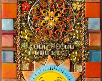 Here Comes the Sun, Sunshine, Orange, Yellow, Gold