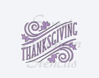 Thanksgiving Stencil
