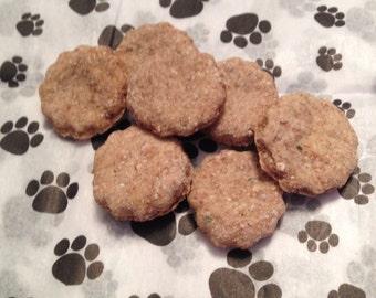 Low Fat Beef Dog Treats - 100% Natural, Healthy and No Preservatives.