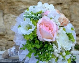 Wedding bouquet Zuzinela  and boutonniere