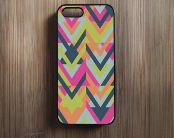 Geometric Chevron Pattern iPhone 4/4s, iPhone 5/5s, iPhone 5c, iPhone 6, iPhone 6 Plus Case Cover 094