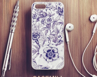 White Floral iPhone 6 Case Floral iPhone 6s Case iPhone 6 Plus Case iPhone 6s Plus Case Floral iPhone 5s Case iPhone 5 Case iPhone SE Case