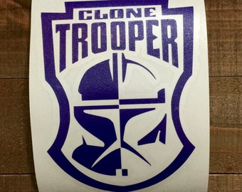 Star Wars Clone Trooper Decal