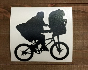 E.T. The Extraterestrial Bike Decal