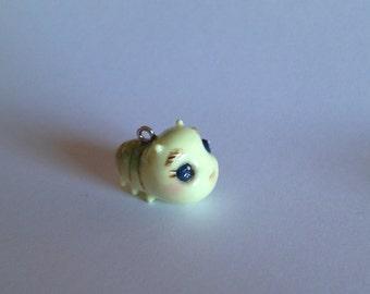 Cute caterpillar charm