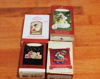 4 Collectible Hallmark Ornaments  #8                00726
