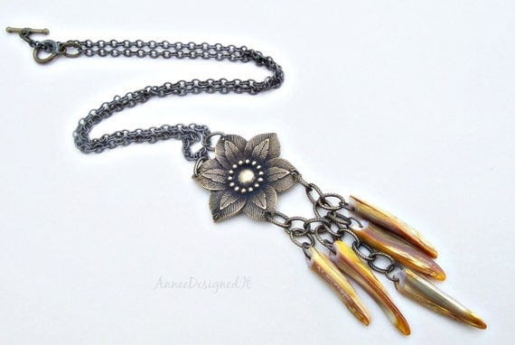 Long Flowing Necklace