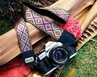 Hand-made camera strap Mexico