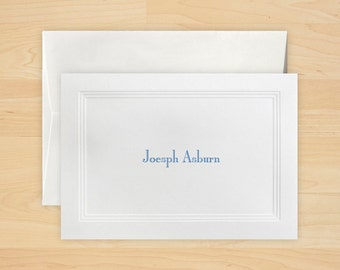 Embossed Triple Border Notes