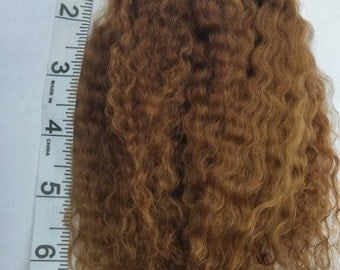 Mohair for reborn dolls rooting, doll hair .5 ounce