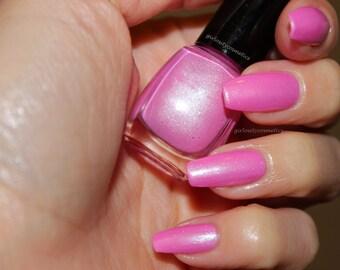 """Pink Duo Chrome Nail Polish (5mL) """"Love Affair"""""""