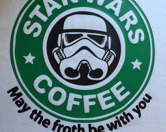 Star Wars Starbucks Disney Shirt