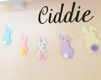 Easter bunny bunting /*garland*