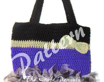 Witch Bottom Trick or Treat Bag PATTERN