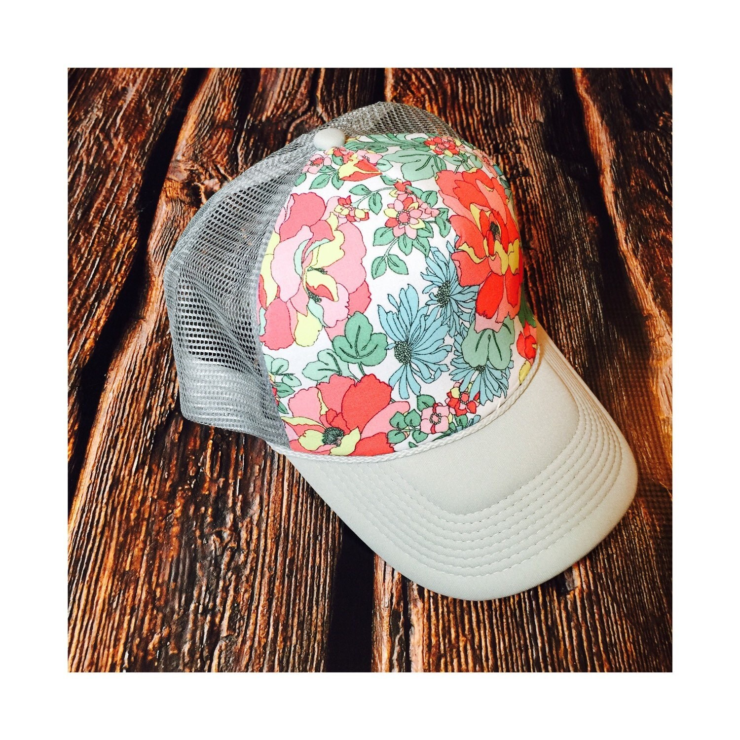 Best Selling Spring Floral Women S Trucker Hat By Ariebdesigns