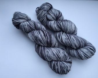 Hand Dyed Yarn - DK (8 ply) - A Few Shades Of Grey