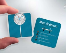 Personal Trainer - Mini Business Cards - Fitness/Gym - Design and Printing - 100, 250, 500, 1000