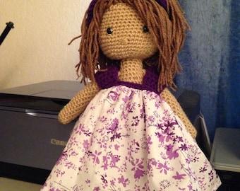 Amigurumi  doll Violeta