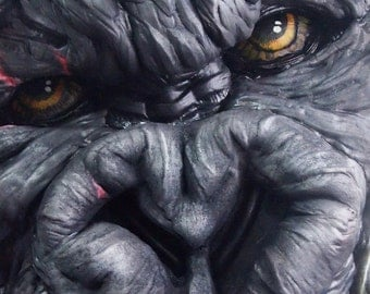 King Kong 3D Wall Art HUGE LIFE SIZE