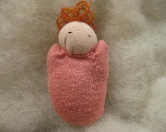 Soft Pink Pocket Doll