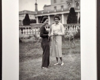 Women golfers vintage photo large format…PRICE REDUCED until Sept. 1!!!!!!!!