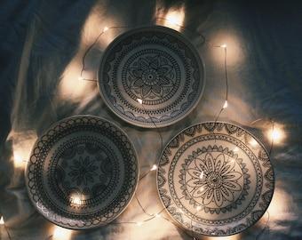 Bohemian Mandala Jewelry Dish