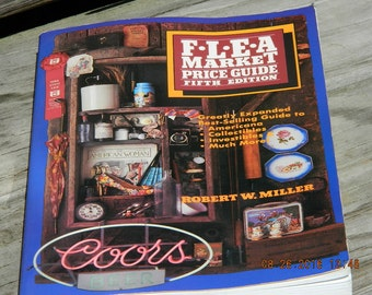 Flea Market Price Guide Book, 1984 Flea Market Guide, Vintage Reference Book, Collectibles Price Guide