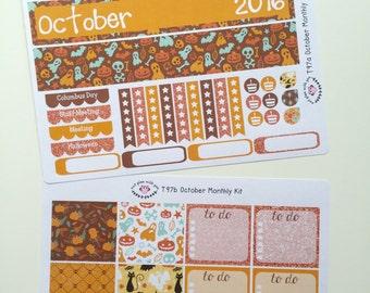 T97    October Halloween Monthly Kit