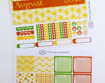 T91    August Sunshine Monthly Kit