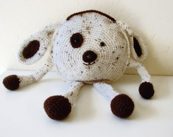Crochet pattern dog | crochet pattern pillow case dog | cute little dog cushion | dog plushy | dog toy | crochet dog | amigurumi dog