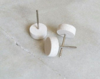 3 pulidores fieltro blanco 25mm
