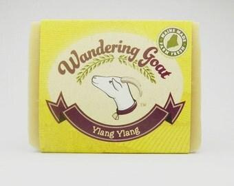 Ylang Ylang and Grapefruit Goat Milk Soap
