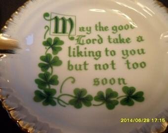Irishman saying ash trays