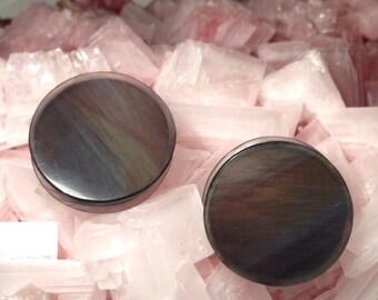 Rainbow Obsidian Gauges
