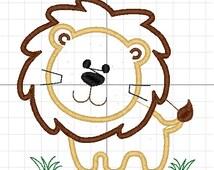 aplique leone machine embroidery