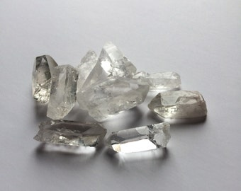 Crystal Quartz Points Raw Crystals