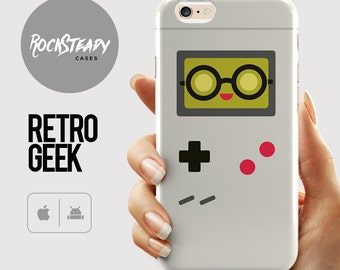 Retro Gameboy iPhone 6s case, geek 7 case, iPhone 6 Plus, S6 case, Samsung Galaxy S7 case, 5s, 5c, phone cover, computer game gift