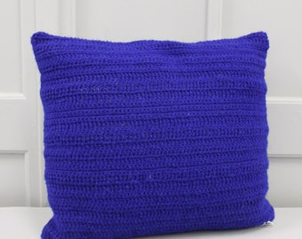 Wool and linen cushion